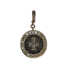 """Closeup image for View 30"""" Double Diamond Ring Drop Chain By Cynthia Ann Jewels"""