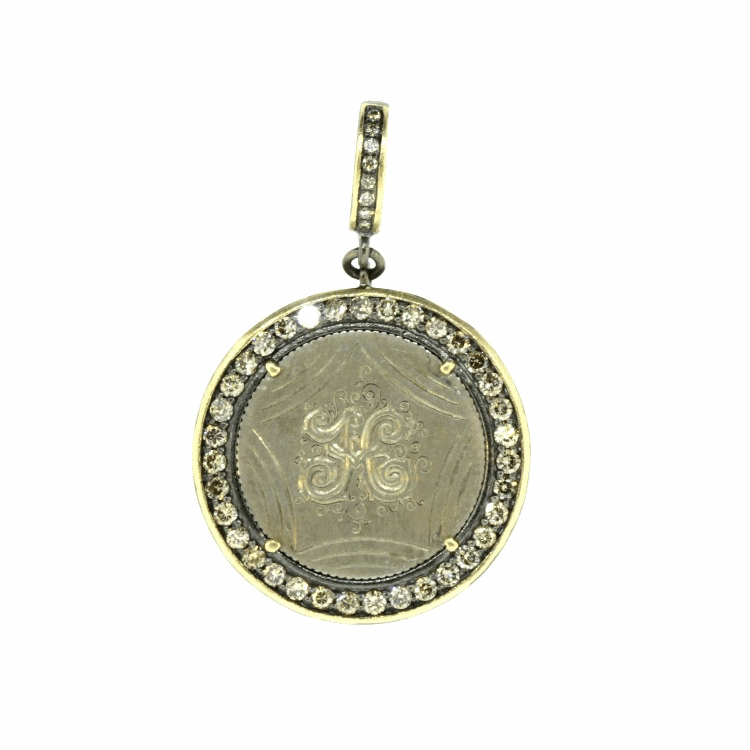 "Love Token Engraved with ""H"""