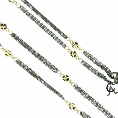 Diamond Chains in 18K Rose, White, or Yellow Gold. Available in varying lengths and diamond carat weights.