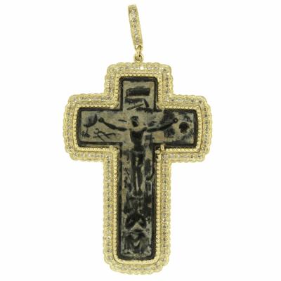 Antique Crucifixion Passion Cross