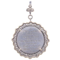 Closeup image for View Ancient Mary Medal Pendant By Cynthia Ann Jewels