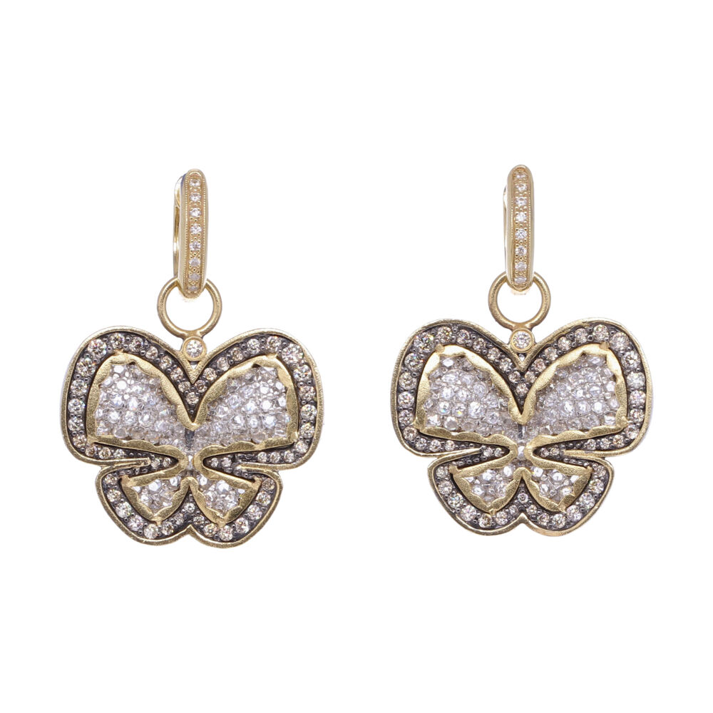 Butterfly Diamond Earring Charms