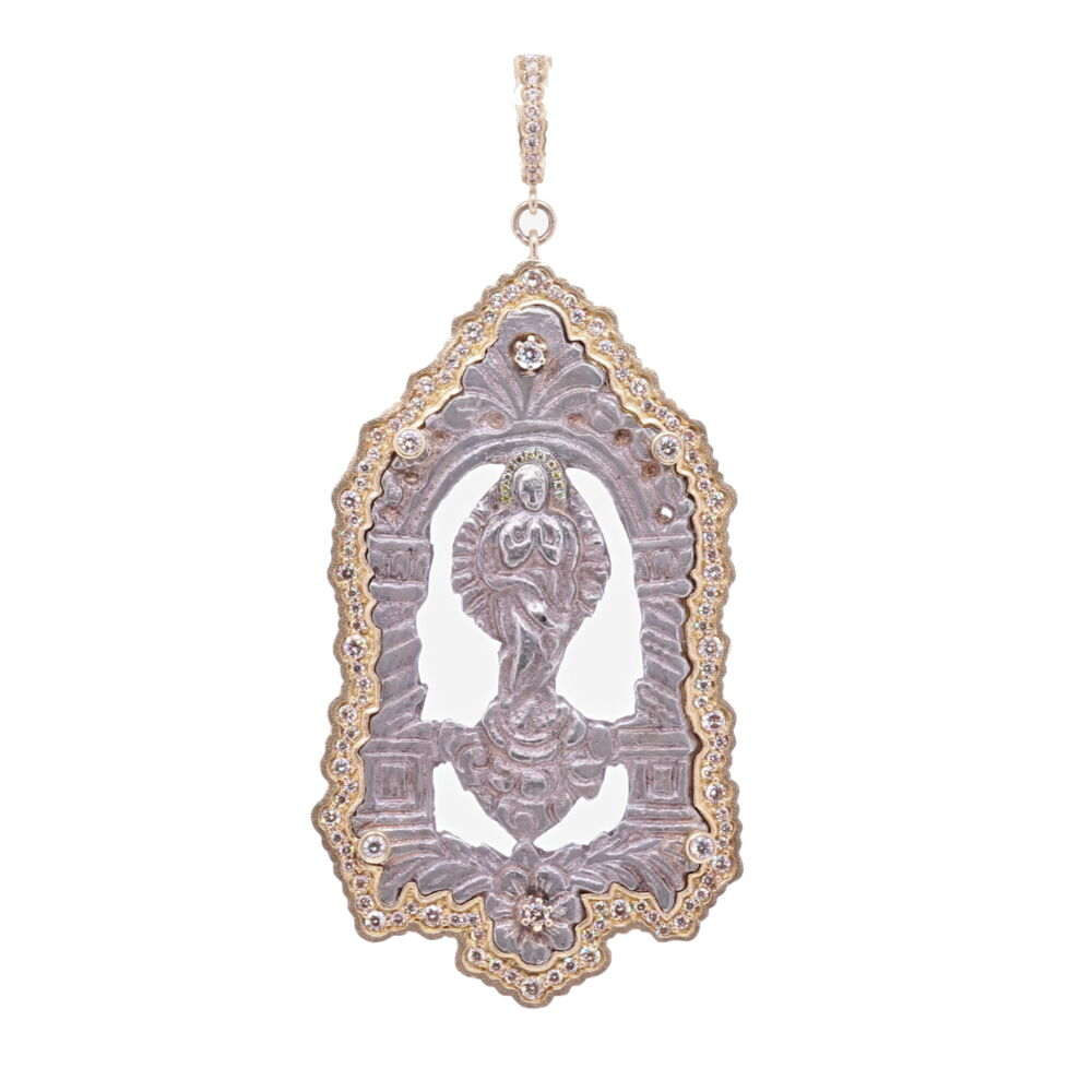 Immaculate Conception Mary Pendant