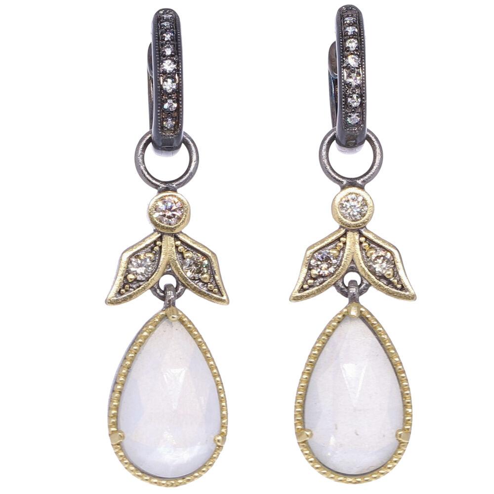 Image 2 for Angel Diamond Earring Charms