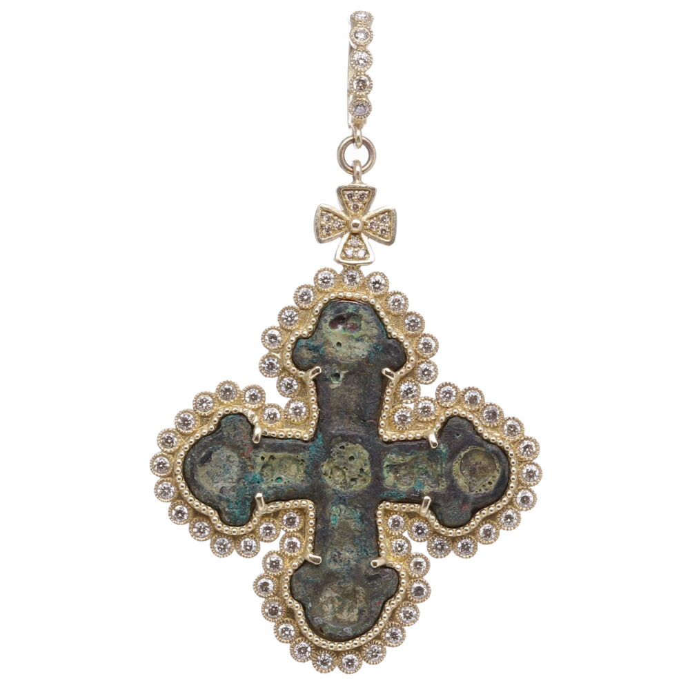 Ancient Viking Cross Pendant