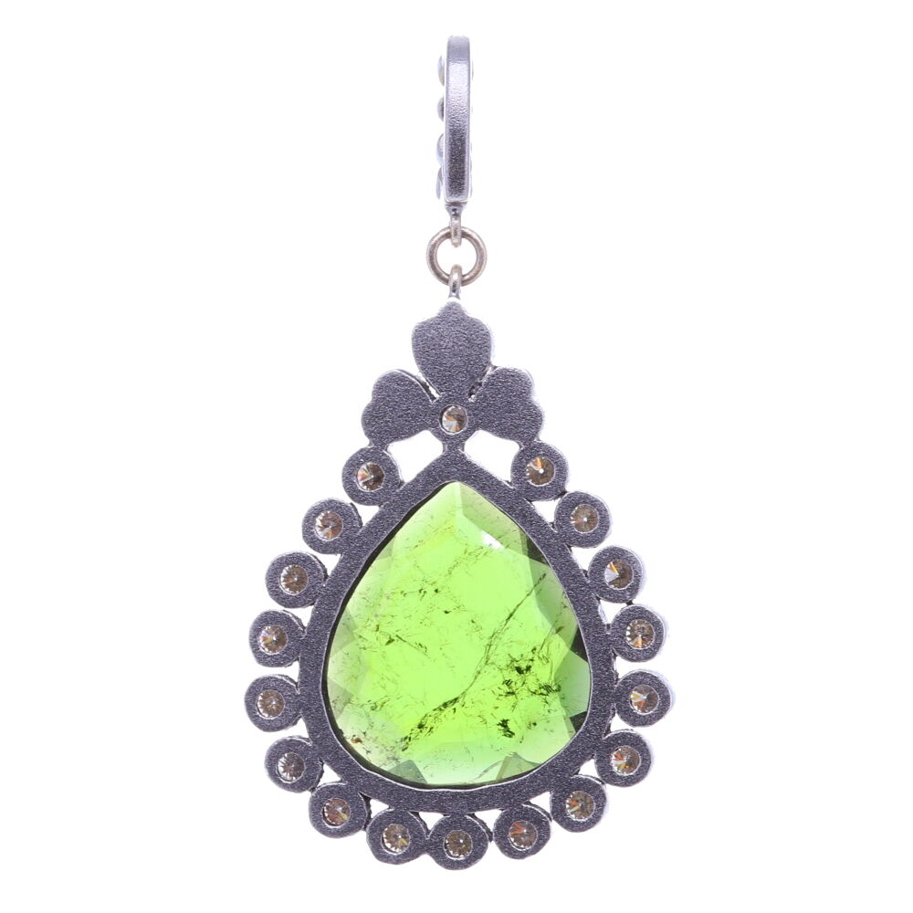 Image 2 for Green Tourmaline Pendant