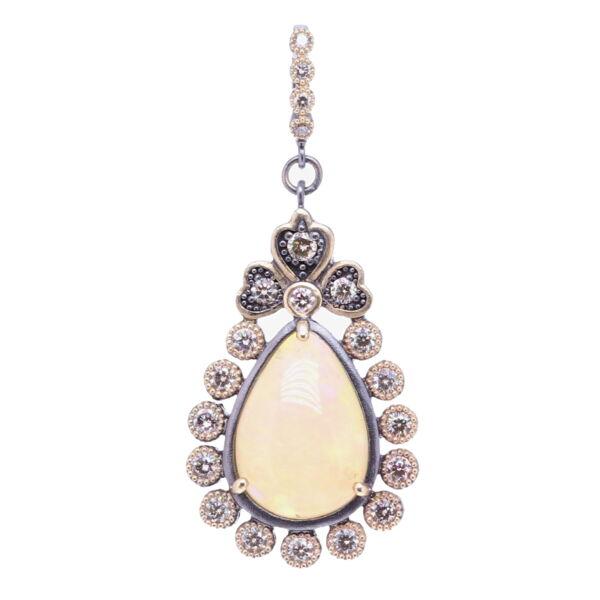 Closeup photo of Pear Shaped Opal Pendant