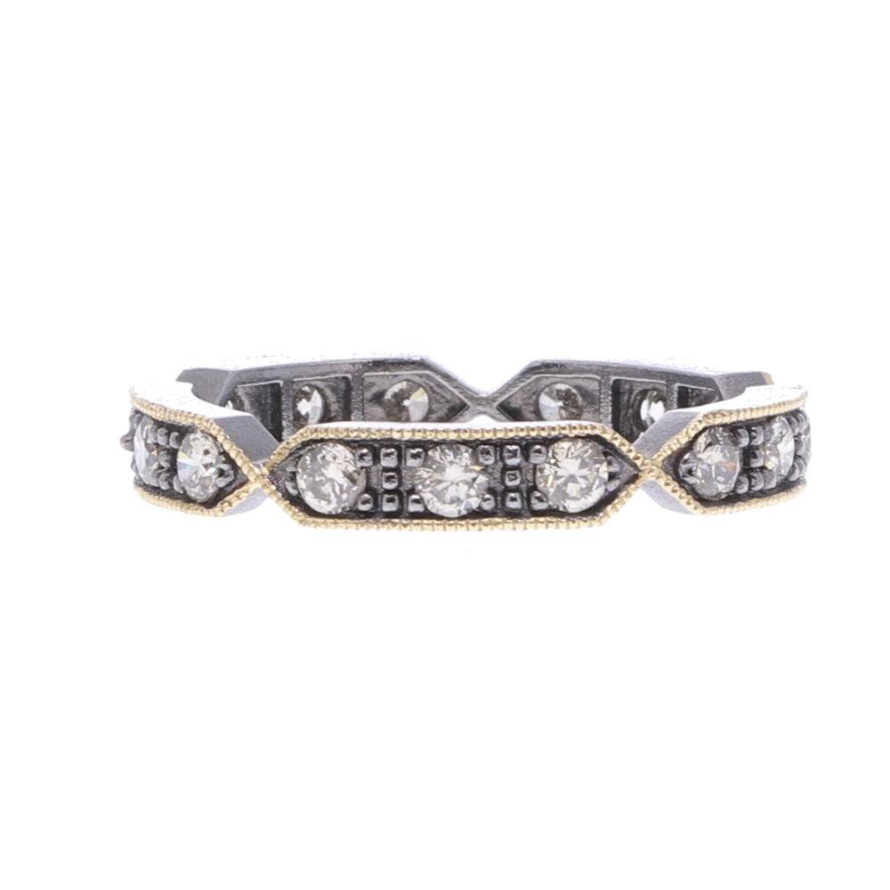 Lizzie Diamond Eternity Band Ring