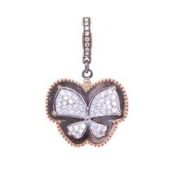 Closeup photo of Diamond Butterfly Pendant