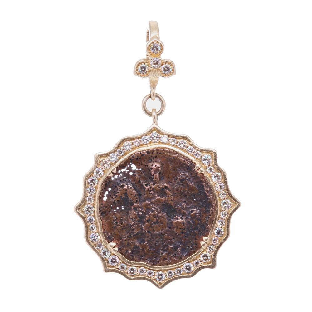 Antique St. George Pendant