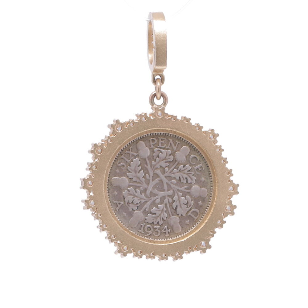 """Image 2 for Love Token Engraved With """"F"""""""