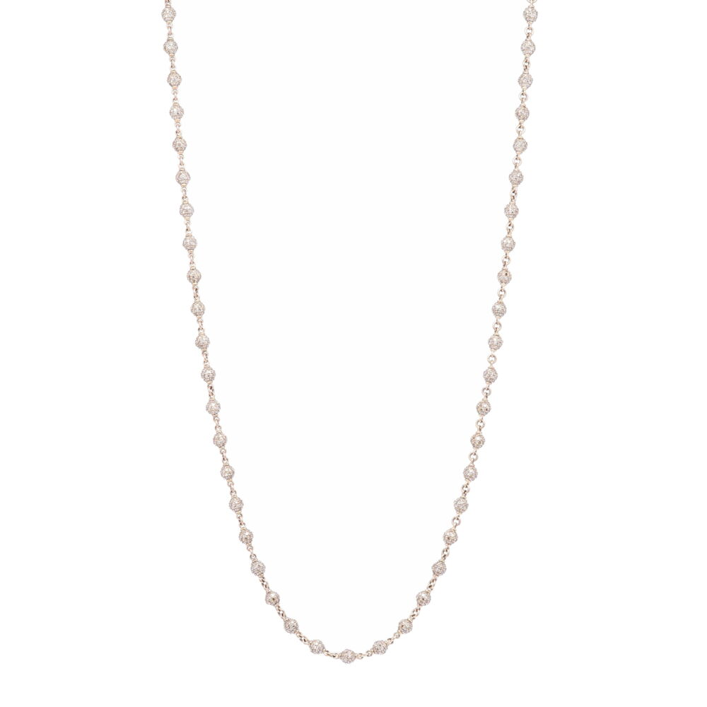 Diamond Sphere Chain 18""