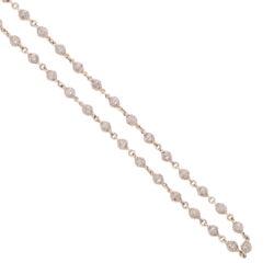 "Closeup photo of Diamond Sphere Chain 18"""