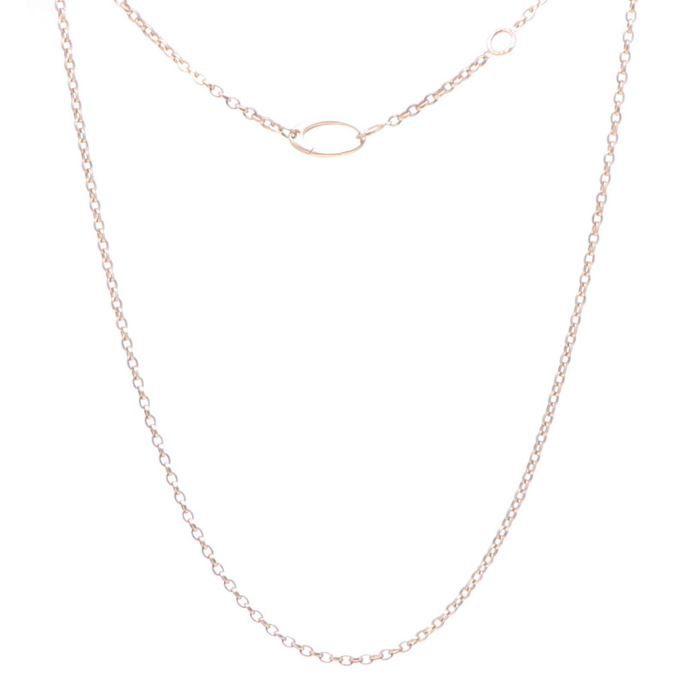 """Classic Indy Yellow Gold Chain 24-26"""""""