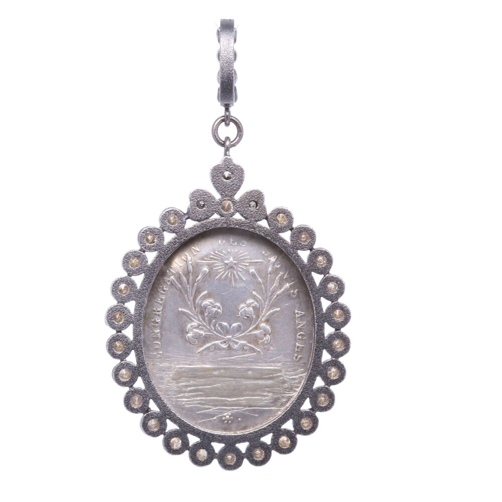 Image 2 for French Guardian Angel Pendant