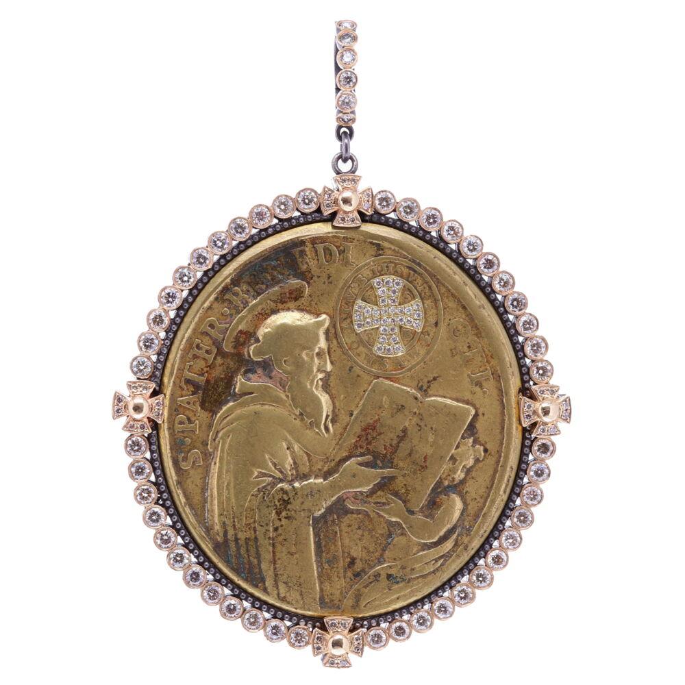 Spanish St. Benedict and the Lady of Montserrat