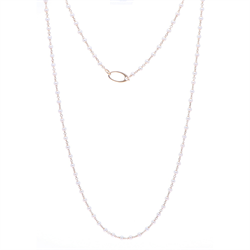 Closeup image for View Reversible Helena Station Necklace By Dana Bronfman