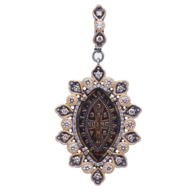 "This sparkly pendant necklace hangs at 18"". The diamonds next to the large stars move when shaken."