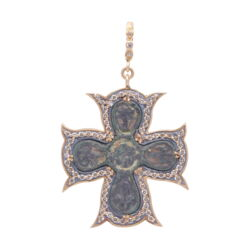 Closeup image for View St. Benedict Pendant  By Cynthia Ann Jewels