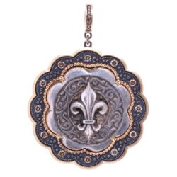 Closeup image for View Mulit Color Diamond Snake Bracelet By Estate