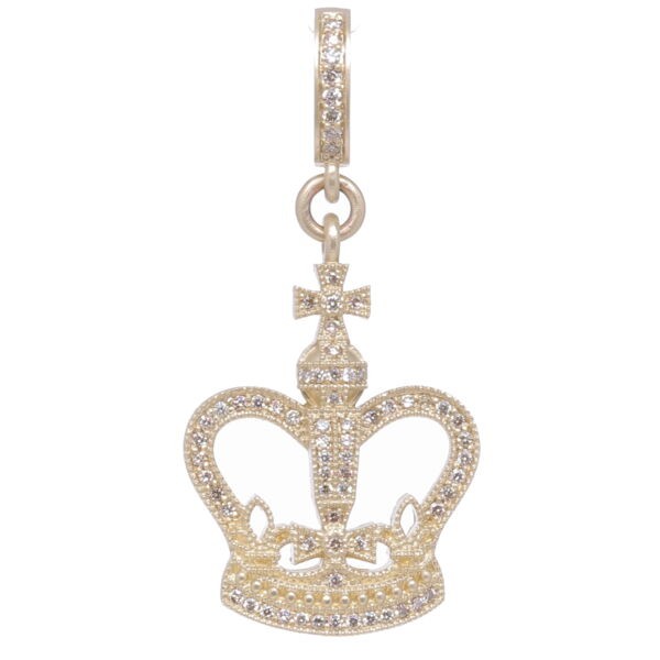 Closeup photo of Classic Crown Pendant