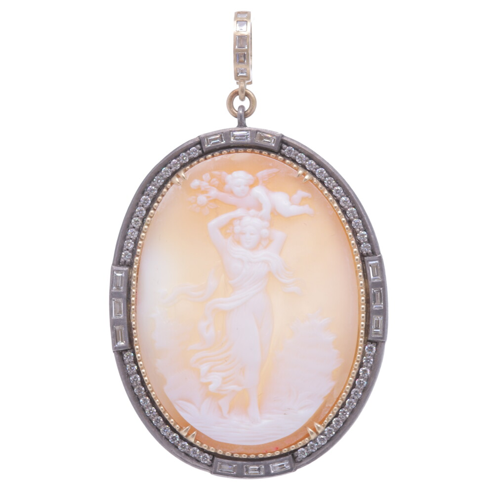 Baguette Large Cameo Angel