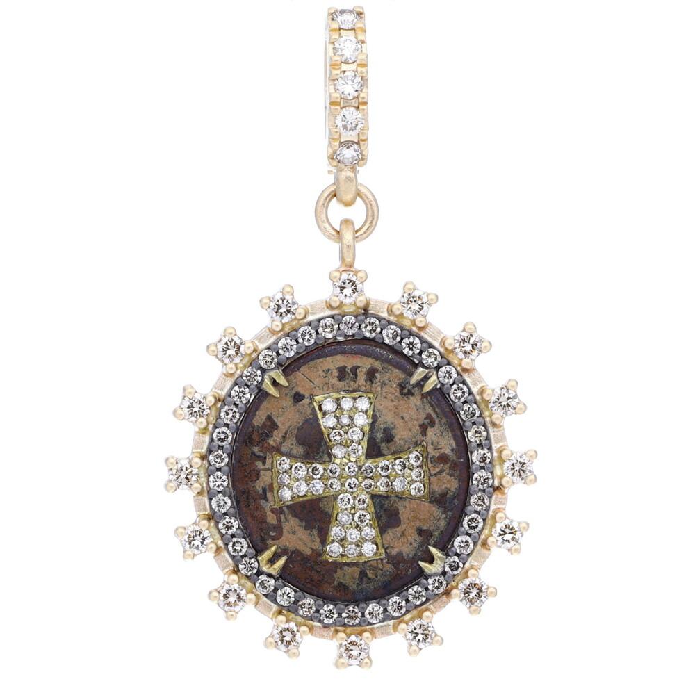Antique Oval St Benedict Medal