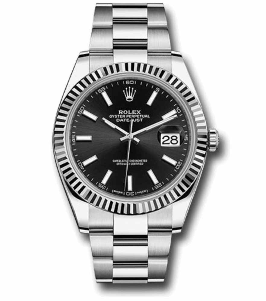 Rolex Oyster Perpetual Datejust 41mm Watch on Stainless Steel Oyster Bracelet Brand New