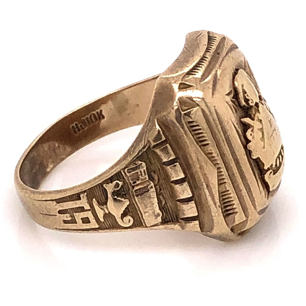 Image 2 for 10K Yellow Gold Mens Class Ring 7.9g, s7