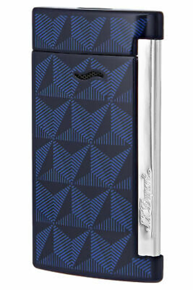 S.T. Dupont Slim 7 Lighter Graphic Head/Blue