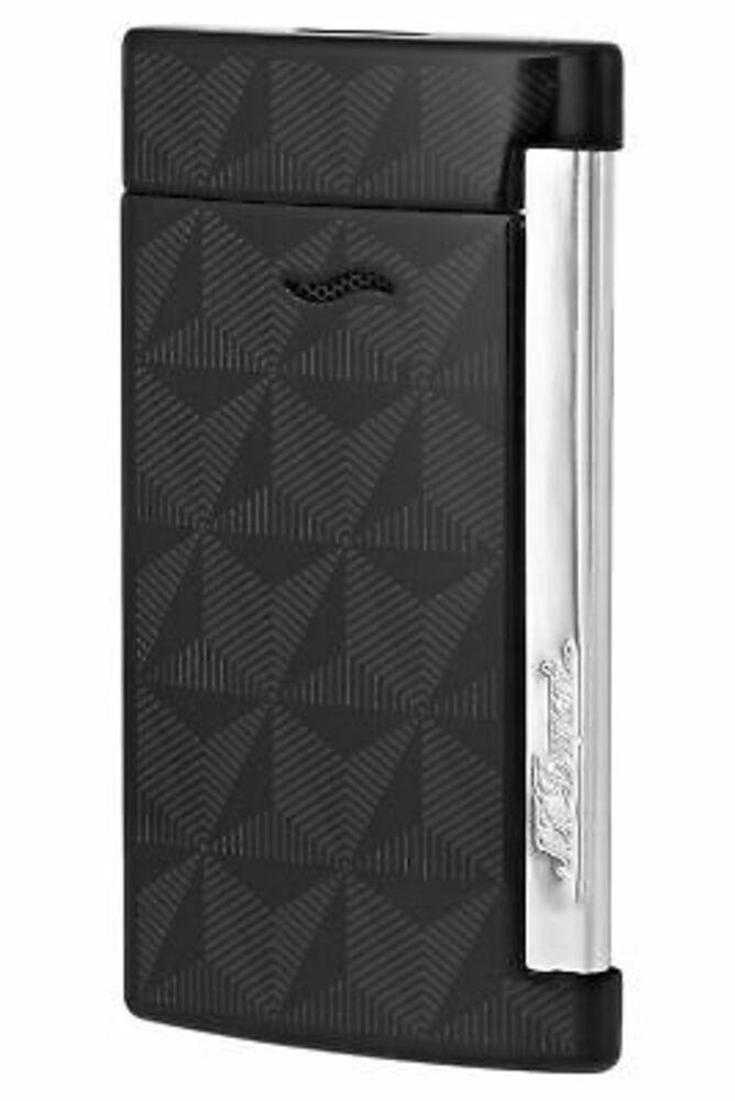 S.T. Dupont Slim 7 Lighter Graphic Head/Black