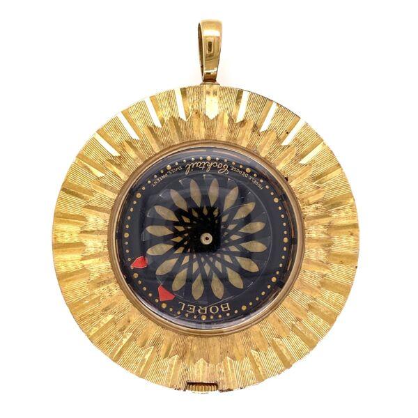 Closeup photo of Borel Gold Filled Watch