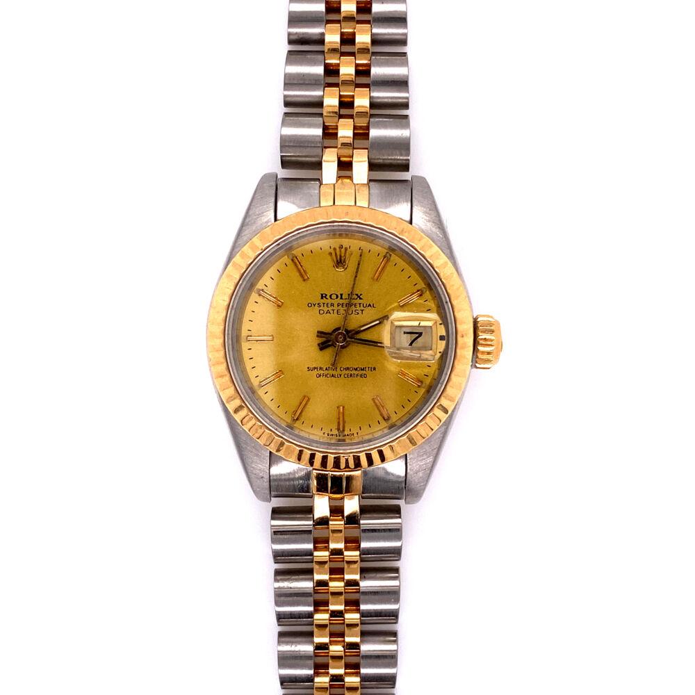 Ladies Rolex 69173 26m 2tone 18K Stainless Steel Watch 2020 Service!