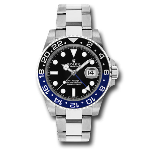 Rolex 116710BLNR BATMAN GMT-Master II Steel Watch