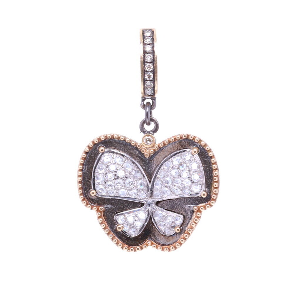 Cynthia Ann Jewels Diamond Butterfly Pendant
