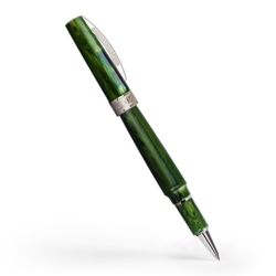 Closeup photo of Visconti Mirage Rollerball Pen - Emerald Green