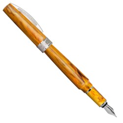 Closeup photo of Visconti Mirage Fountain Pen – Amber
