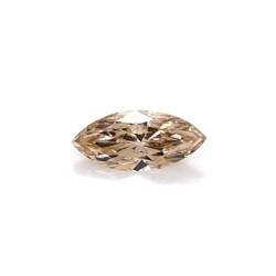 Closeup photo of 1.12 Natural Marquis Diamond Light Brown, VS Clarity