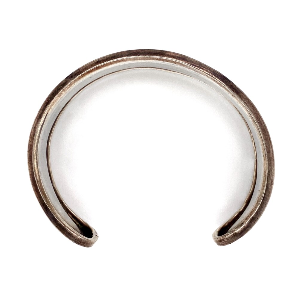 925 Sterling Polished Cuff with Lip 25.8g
