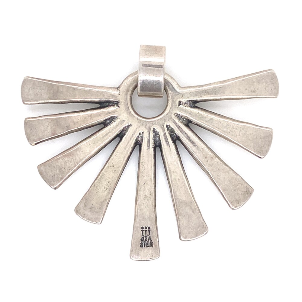 Image 2 for 925 Sterling James Avery Sun Rays Pendant 13.9g