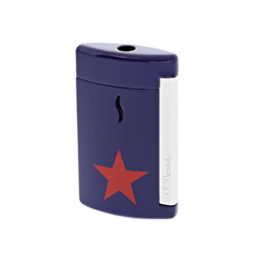 S.T. Dupont Minijet Star Lighter, Chrome, Blue, 010530 - Platinum 1911
