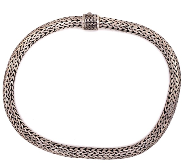 Closeup photo of 925 Sterling Heavy Rope Necklace 170g, 18""