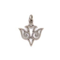 Closeup photo of 925 Sterling James Avery Holy Spirit Dove Charm 1.1g