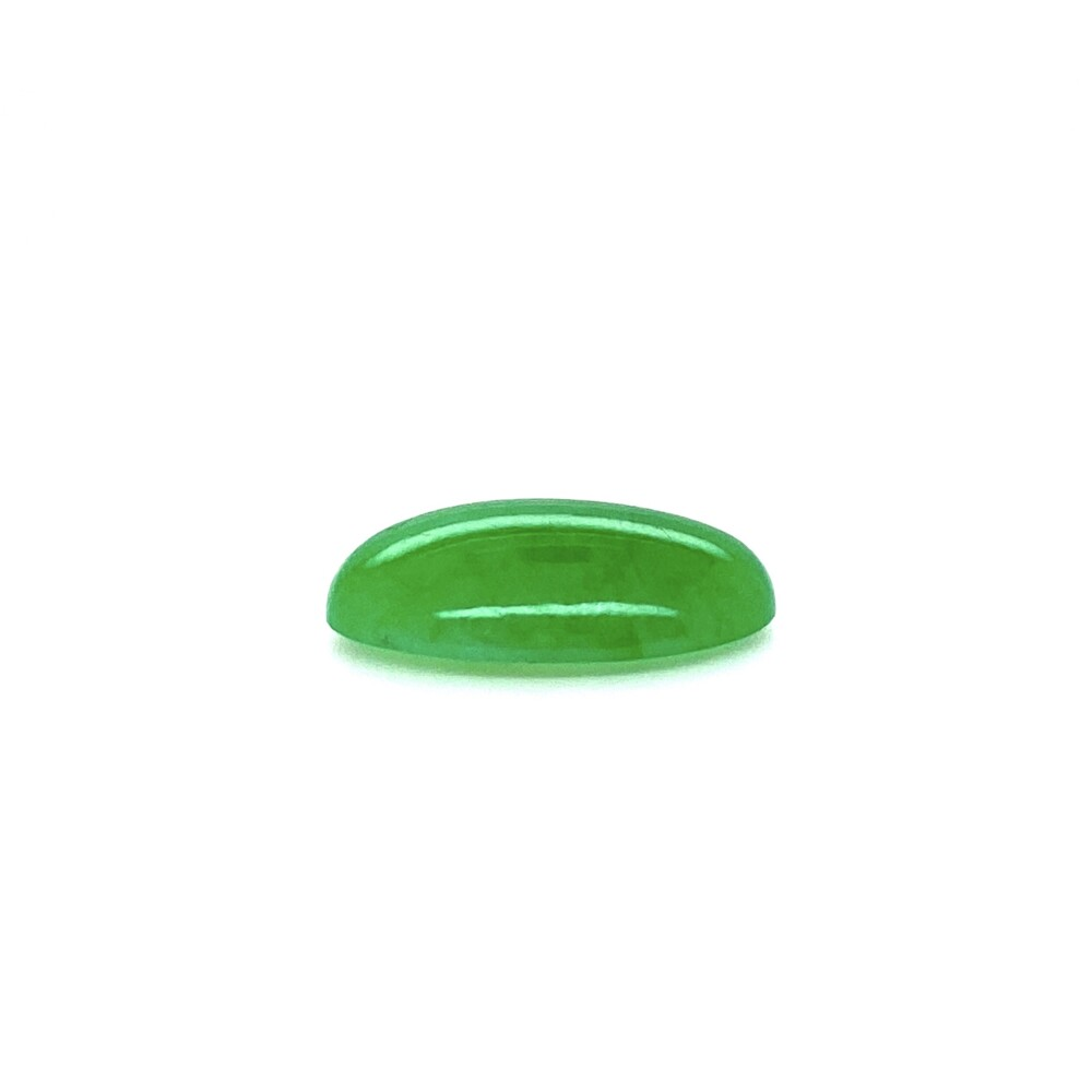Image 2 for 6.35ct Oval Cabochon Natural A Jade 15.13 x 11.07 x 4.26mm