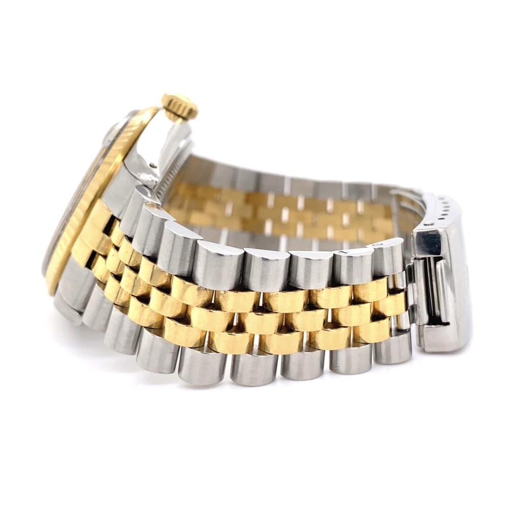 Image 2 for Rolex 16013 2tone 18K Silver Stick Dial on Jubilee Bracelet