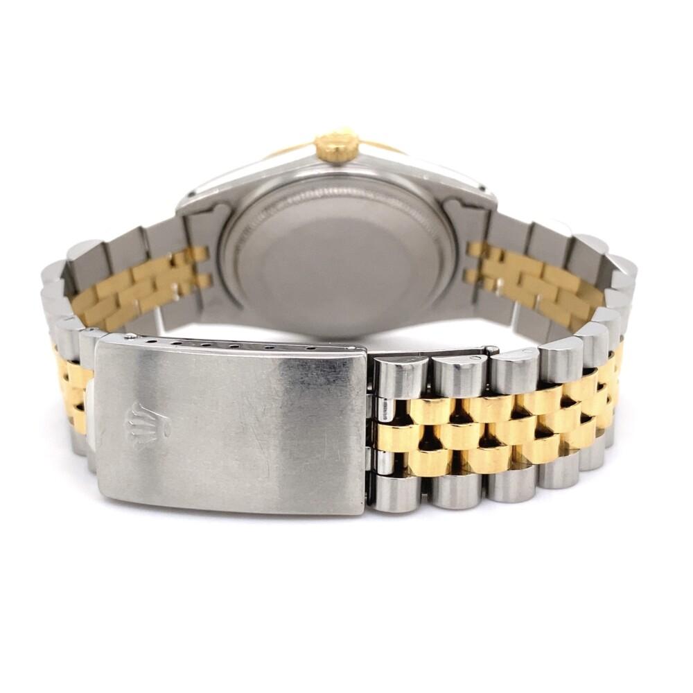 Rolex 16013 2tone 18K Silver Stick Dial on Jubilee Bracelet