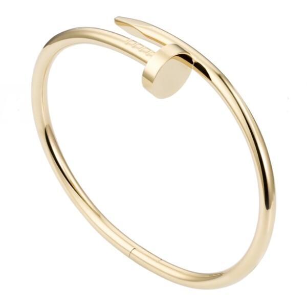 Closeup photo of Cartier Juste Un Clou Nail Bracelet Yellow Gold, s17