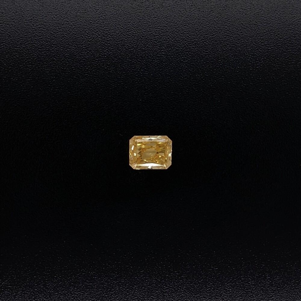 .71ct Natural Fancy Intense Yellow-Orange Radiant Diamond GIA #6217508623