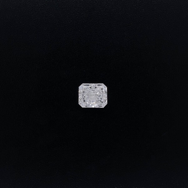 Closeup photo of 1.17ct Radiant Cut Diamond D-VVS1 GIA 6.72x5.70x3.66 #6217508649