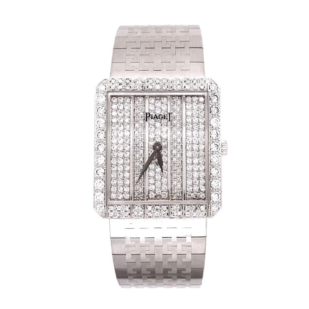 Piaget 81635 A2 Diamond Dress Watch 18K WG 82.4g